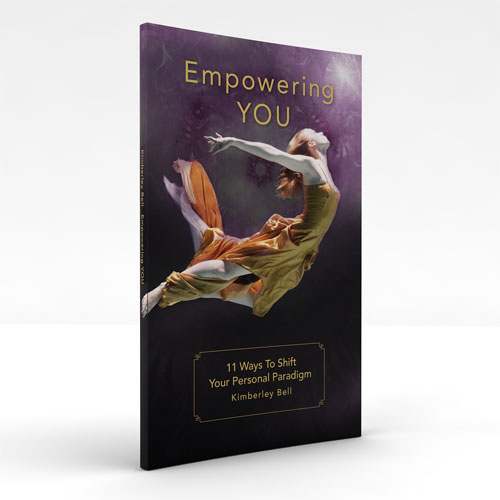 Empowering YOU by Kimberley Bell life coach boston book cover